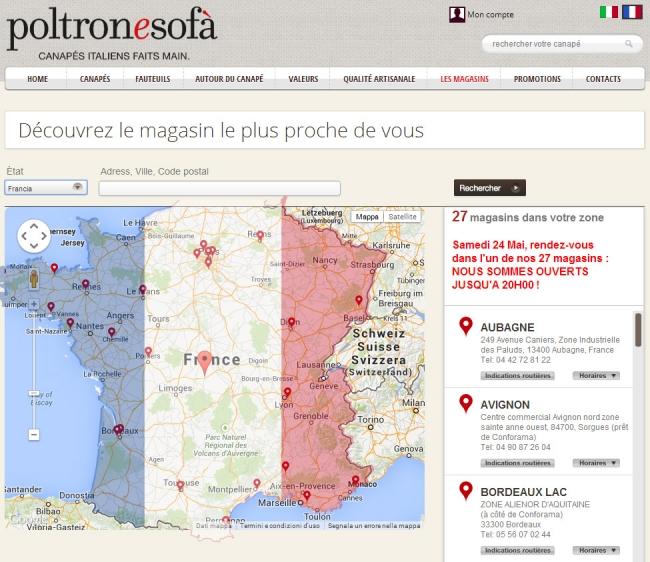 Radio poltronesof suona anche oltreconfine tailoradio - Poltronesofa com france ...