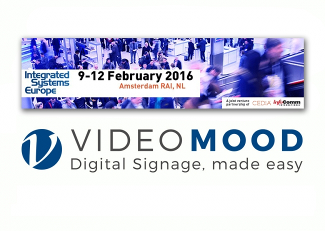 ISE 2016: Tailoradio presenta VideoMOOD™, Digital Signage made easy