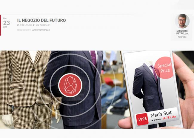"""Il 23 ottobre, Massimo Petrella all'evento """"Il Negozio del Futuro"""" di Allestire Decor Lab!"""