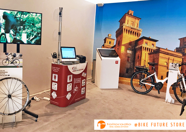 Multimedialità al Bike Future Store, powered by Tailoradio!