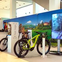 Multimedialità al Bike Future Store, powered by Tailoradio!